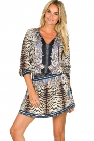 Hale Bob |  Animal printed dress Roque | multi  | Picture 4