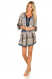 Hale Bob |  Animal printed dress Roque | multi  | Picture 3