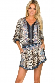 Hale Bob |  Animal printed dress Roque | multi  | Picture 2