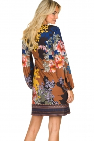 Hale Bob |  Floral dress Valentina | black  | Picture 6