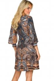 Hale Bob |  Paisley print dress Wave | camel  | Picture 5