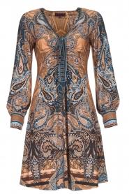 Hale Bob |  Paisley print dress Wave | camel  | Picture 1