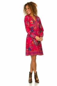 Hale Bob |  Floral dress Anafa | red  | Picture 3
