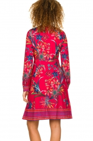 Hale Bob |  Floral dress Anafa | red  | Picture 6
