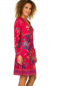 Hale Bob |  Floral dress Anafa | red  | Picture 5