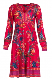 Hale Bob |  Floral dress Anafa | red  | Picture 1