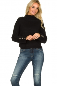 Silvian Heach | Sweater Elayadi | black  | Picture 3