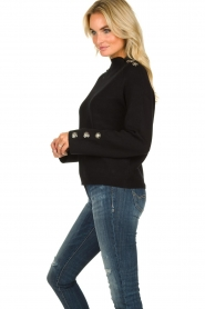 Silvian Heach | Sweater Elayadi | black  | Picture 5