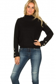Silvian Heach | Sweater Elayadi | black  | Picture 2