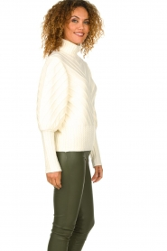 Silvian Heach |  Turtleneck sweater Tapajos | off-white  | Picture 5