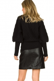 Silvian Heach |  Turtleneck sweater Tapajos | black  | Picture 6