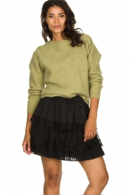 Silvian Heach | Skirt Largeay | black  | Picture 2