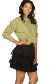 Silvian Heach | Skirt Largeay | black  | Picture 4