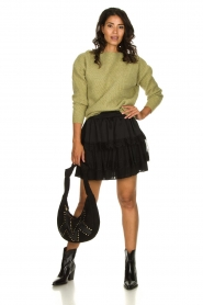 Silvian Heach | Skirt Largeay | black  | Picture 3