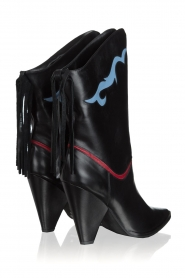 Silvian Heach | Leather boots Cowstar | black  | Picture 4