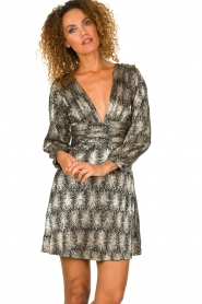 Antik Batik | Metallic dress Grace | metallic  | Picture 2