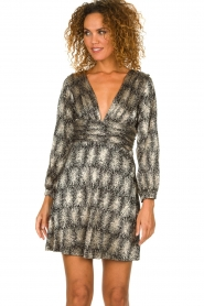 Antik Batik | Metallic dress Grace | metallic  | Picture 4