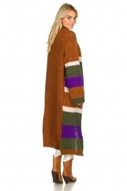 Antik Batik | Knitted cardigan Gina | brown  | Picture 5