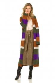 Antik Batik | Knitted cardigan Gina | brown  | Picture 7
