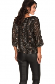 Antik Batik |  Embellished top Emilie | black  | Picture 5