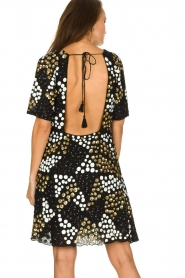 Antik Batik |  Embellished dress Andy | black  | Picture 5