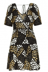 Antik Batik |  Embellished dress Andy | black  | Picture 1