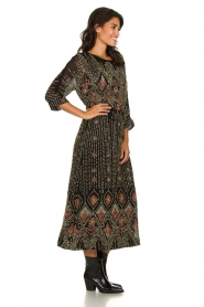 Antik Batik |  Embellished dress Emilie | black  | Picture 3