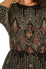 Antik Batik |  Embellished dress Emilie | black  | Picture 5