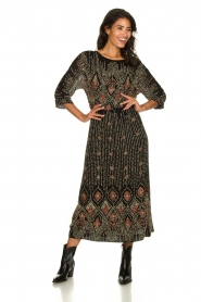 Antik Batik |  Embellished dress Emilie | black  | Picture 2