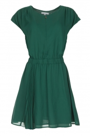 Patrizia Pepe |  Dress with elastic waist Sacha | green  | Picture 1