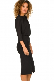 Patrizia Pepe |  Dress with pencil skirt Richi | black  | Picture 5