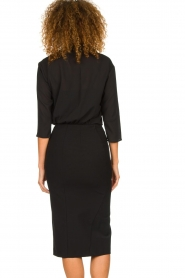 Patrizia Pepe |  Dress with pencil skirt Richi | black  | Picture 6
