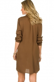 Patrizia Pepe | Dress with Swarovski stones Lidia | brown  | Picture 6
