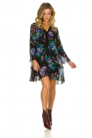 Patrizia Pepe |  Floral dress Isabella | black  | Picture 5