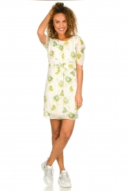 Patrizia Pepe |  Floral dress Fenna | white  | Picture 3