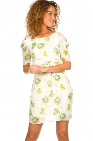 Patrizia Pepe |  Floral dress Fenna | white  | Picture 2