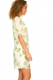 Patrizia Pepe |  Floral dress Fenna | white  | Picture 4