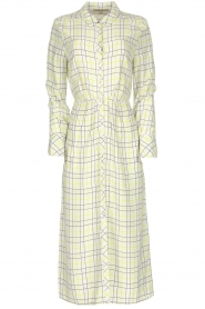 Patrizia Pepe |  Checkered midi dress Jamie | print  | Picture 1