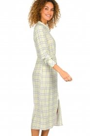 Patrizia Pepe |  Checkered midi dress Jamie | print  | Picture 4