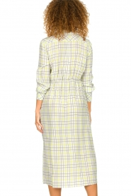 Patrizia Pepe |  Checkered midi dress Jamie | print  | Picture 5