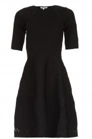 Patrizia Pepe |  Skater dress Rita | black  | Picture 1