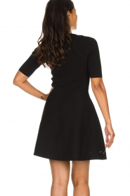 Patrizia Pepe |  Skater dress Rita | black  | Picture 6