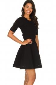 Patrizia Pepe |  Skater dress Rita | black  | Picture 5