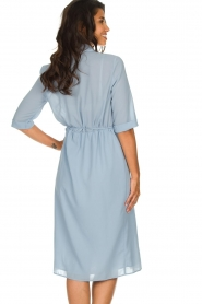 Patrizia Pepe |  Midi dress Jip | blue  | Picture 5
