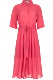 Patrizia Pepe |  Midi dress Jip | pink  | Picture 1