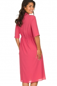 Patrizia Pepe |  Midi dress Jip | pink  | Picture 6
