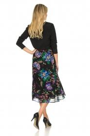 Patrizia Pepe    Floral midi skirt Quintie   black    Picture 4