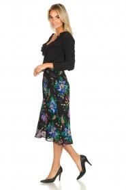 Patrizia Pepe    Floral midi skirt Quintie   black    Picture 3