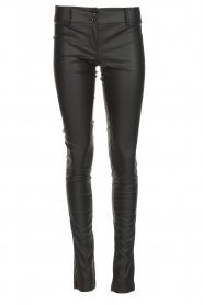 Patrizia Pepe |  Faux leather pants Fienne | black  | Picture 1