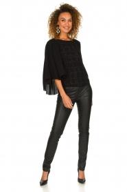 Patrizia Pepe |  Faux leather pants Fienne | black  | Picture 3